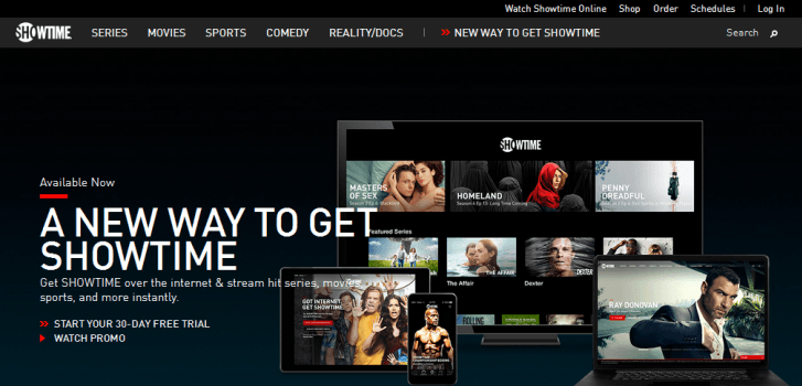 Showtime Launches Ott Streaming Service Smart Dns Fan
